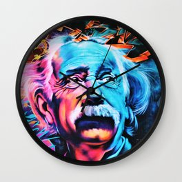 Albert E=mc^2 Einstein Wall Clock