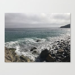 Ocean and Cloudy Skys Canvas Print