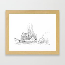Sagrada Familia 1 Framed Art Print