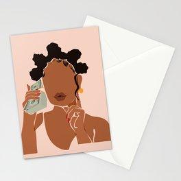 Mo' Money, No Problems Stationery Cards