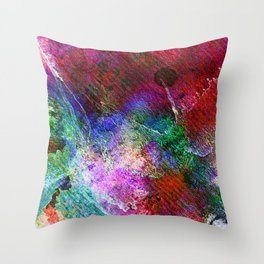 Royal Orchard Throw Pillow