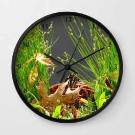 No turtles here! Wall Clock