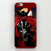 spawn iPhone & iPod Skins featuring Spawn by Shawn Norton Art
