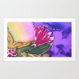 Ohia Flower Art Print