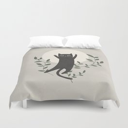 Stay Paw-sitive Duvet Cover