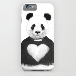 Lovely panda iPhone Case