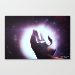 A Glimpse Of Destiny  Canvas Print