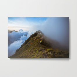 Sleepers in the clouds Metal Print