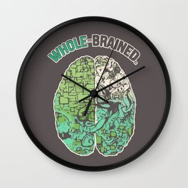 Whole-Brained Wall Clock