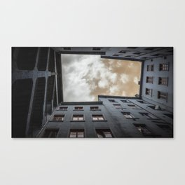 what's up in Lyon?.. Canvas Print
