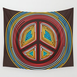 colorful of Pacific Wall Tapestry