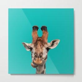 Gee Raffe the Giraffe Metal Print