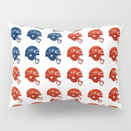 American Football Flag Pillow Sham