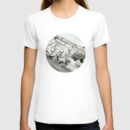 Tuba pistons T-shirt