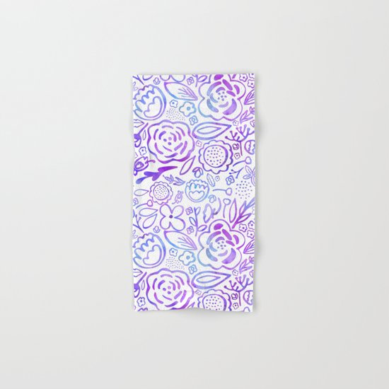 A Profusion of Flowers Hand & Bath Towel