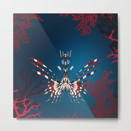 NOCTURNAL CREATURE Metal Print