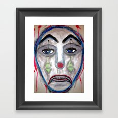 The Wicked Fool. Framed Art Print