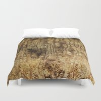 wood Duvet Covers featuring wood by Кaterina Кalinich