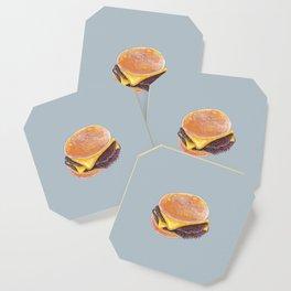 Double Cheeseburger, Plain Coaster