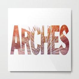 Arches National Park, Southern Utah Metal Print