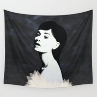 audrey Wall Tapestries featuring Audrey by EISENHART