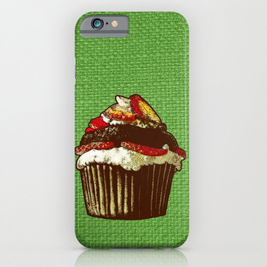 strawberry cake iPhone & iPod Case