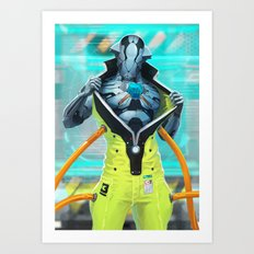 Sf wyv 21 Art Print