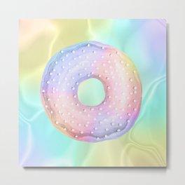 3-Donut Metal Print