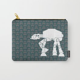 AT-AT  and Stormtroopers On Dark Teal Carry-All Pouch
