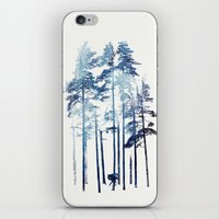 wolf iPhone & iPod Skins featuring Winter Wolf by Robert Farkas