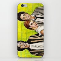 the perks of being a wallflower iPhone & iPod Skins featuring The Perks of Being a Wallflower by Elena Olshin