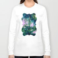 insect Long Sleeve T-shirts featuring Little Insect by Elizabeth Padilla