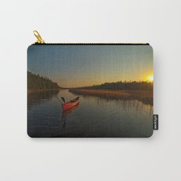 Red Canoe at South River Carry-All Pouch