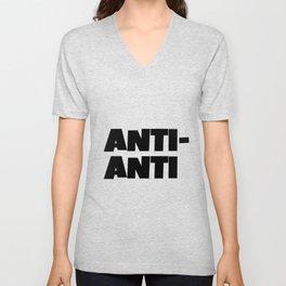 Anti-Anti Unisex V-Neck