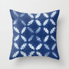 Shibori One Throw Pillow