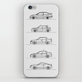 GROUP A RALLY CARS iPhone Skin