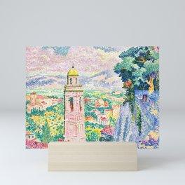 "Henri-Edmond Cross ""Pérouse, le Campanile de Santa Maria Nuova"" Mini Art Print"