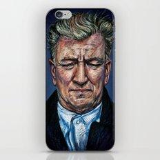 Change Begins Within - David Lynch Portrait iPhone Skin