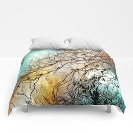 Out On A Limb Jewel Tones Comforters