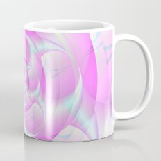 Spiral Pincers in Pink and Blue Mug