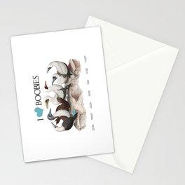 I Heart Boobies Stationery Cards