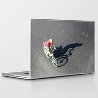 cycling Laptop & iPad Skins featuring Cycling by Avigur