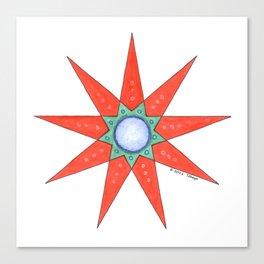 GRANDMOTHER STAR  Canvas Print