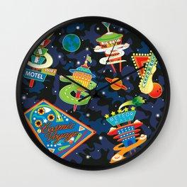 Cosmic Voyage Wall Clock