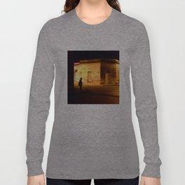 Man in Black Long Sleeve T-shirt