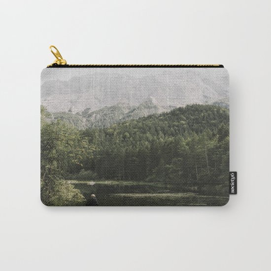 In silence - landscape photography Carry-All Pouch