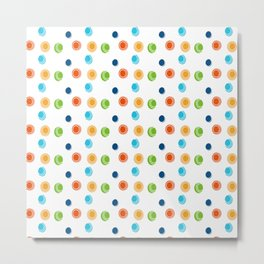 Color circles Metal Print