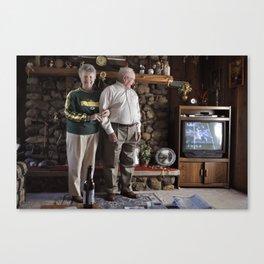Grandparents  Canvas Print