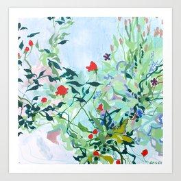Tangled Garden Art Print