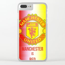 United Logo Clear iPhone Case